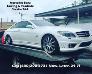 Mercedes Flatbed Towing Naperville
