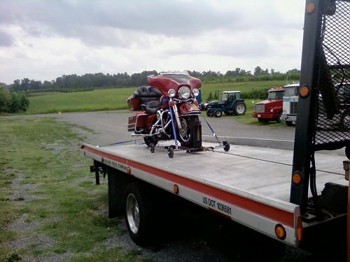 Motorcycle Towing In Naperville, IL