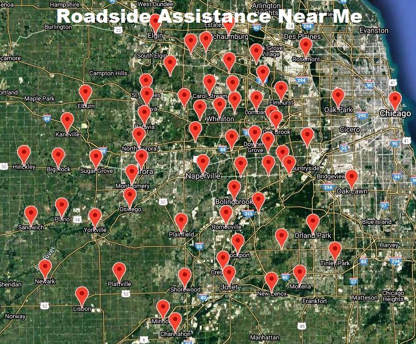Roadside Assistance Naperville